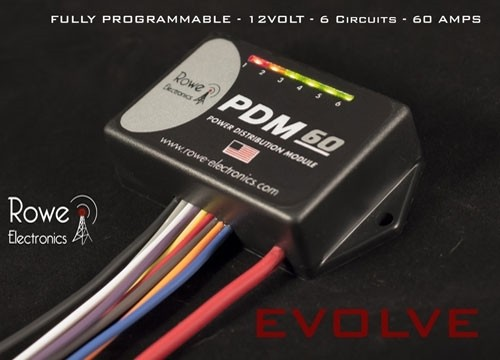 Pdm60 Power Distribution Module With Programming Cable