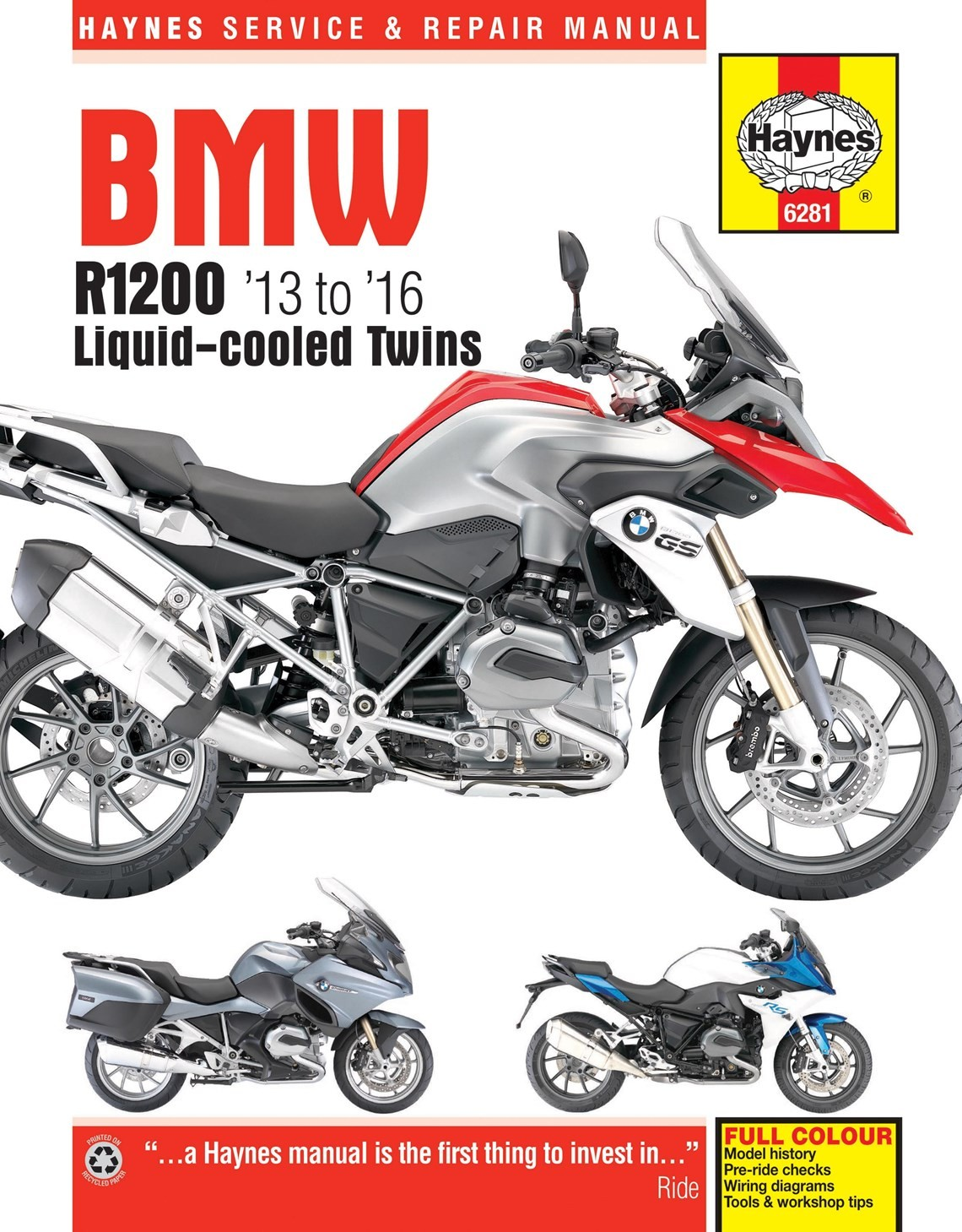 Bmw R1200gs Wiring Diagram Manual : Haynes manual r gs lc adv rs rt